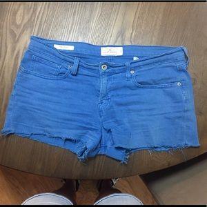 Lucky brand jean shorts- blue